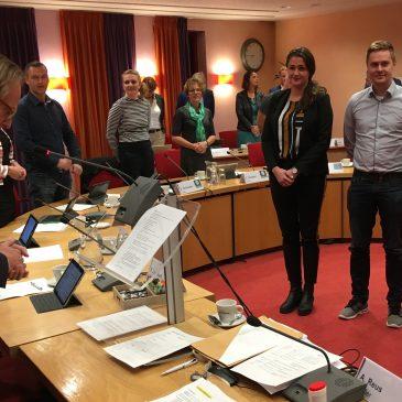 Drie VVD-commissieleden beëdigd