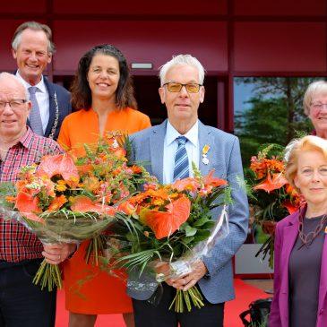 VVD feliciteert Andrea van Langen met lintje