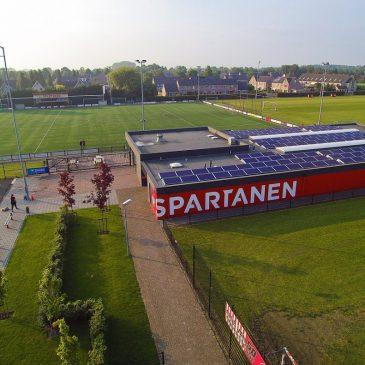 Raad besluit tot aanschaf blaashal bij locatie Spartanen